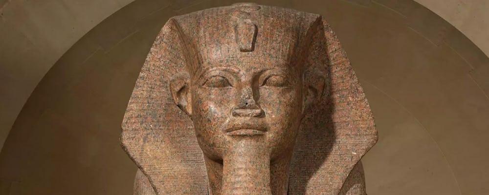 Louvre great sphinx
