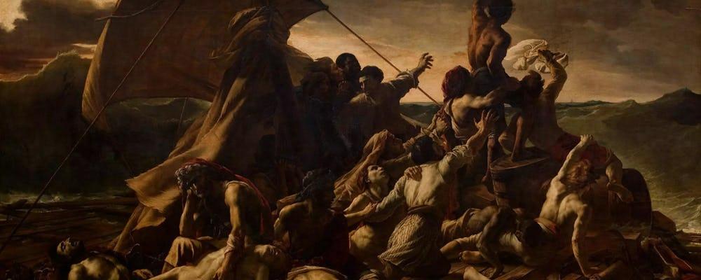 Louvre The Raft of the Medusa