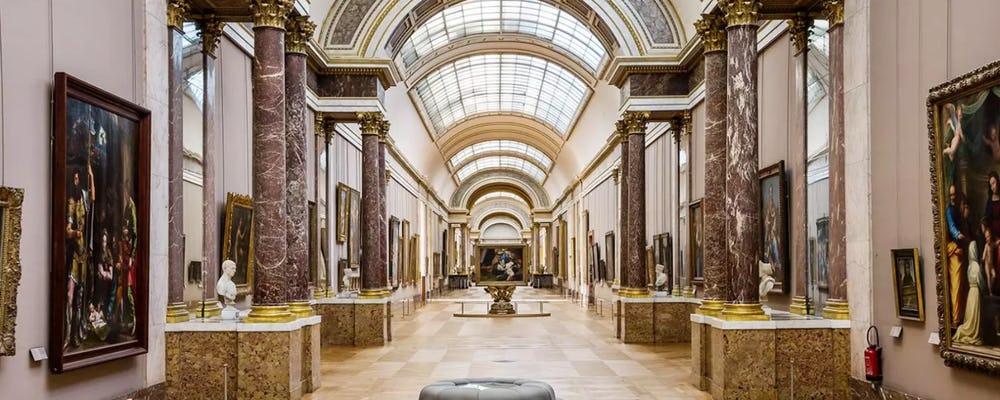 Louvre The Grande Galerie