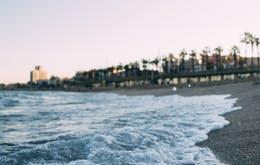 1 day in Barcelona-La Barceloneta Beach