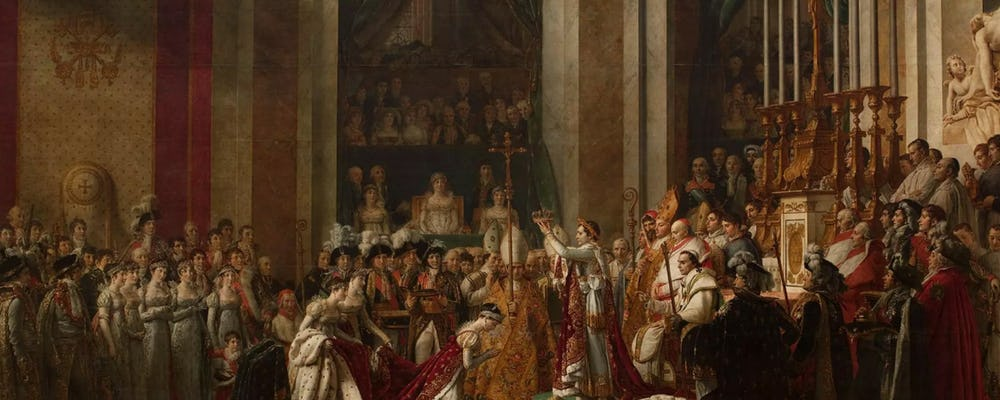 Louvre The Consecration of Napolean