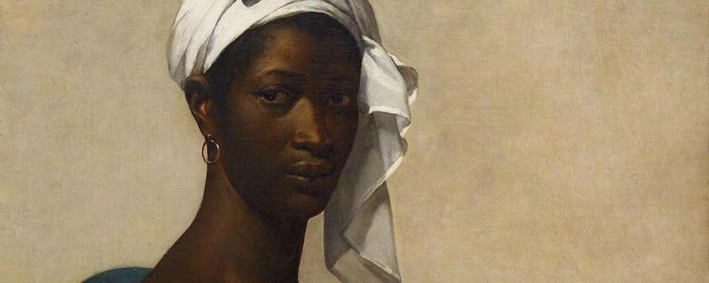 Louvre black woman portrait