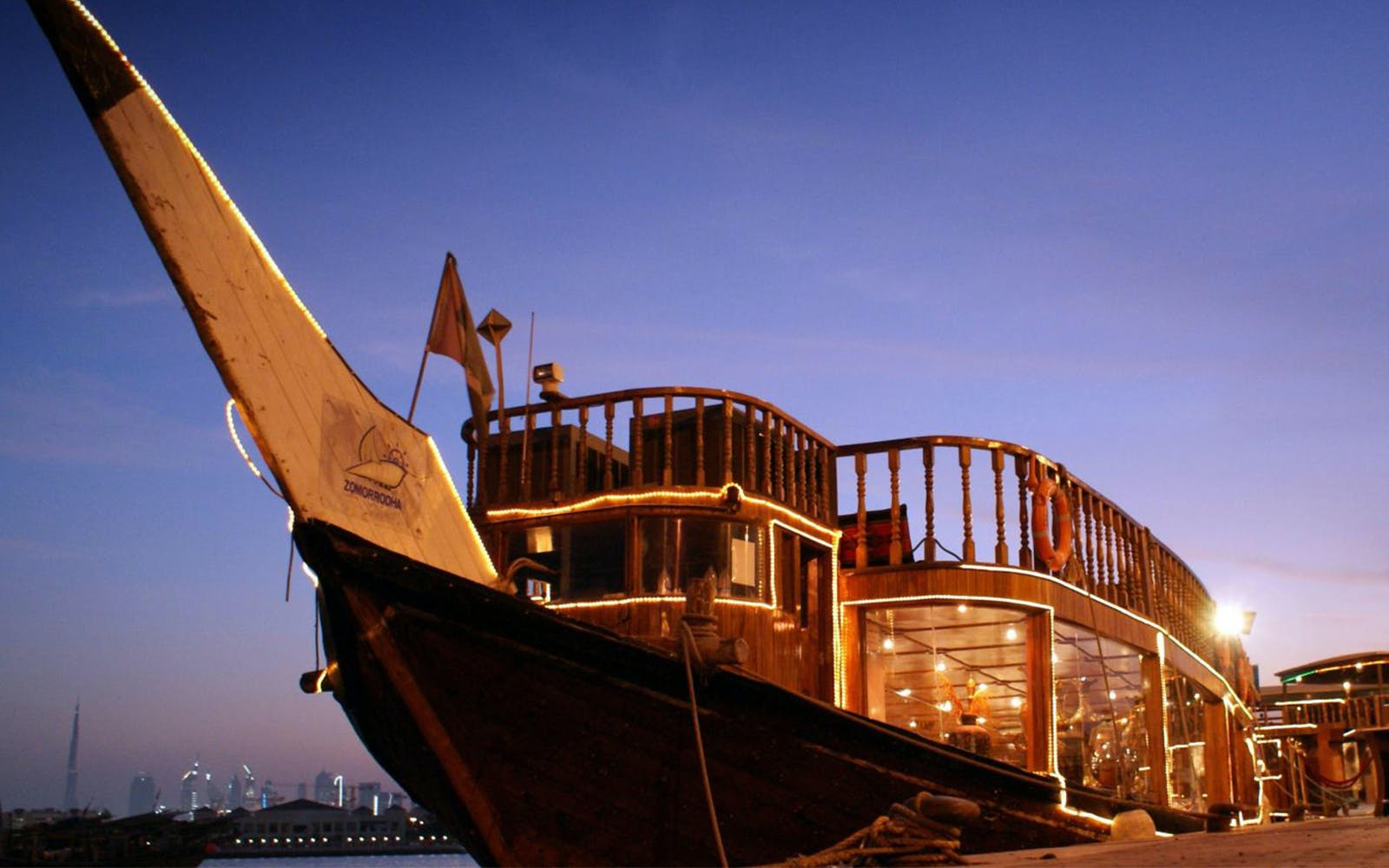 Best dhow cruise in Dubai - Dubai Creek