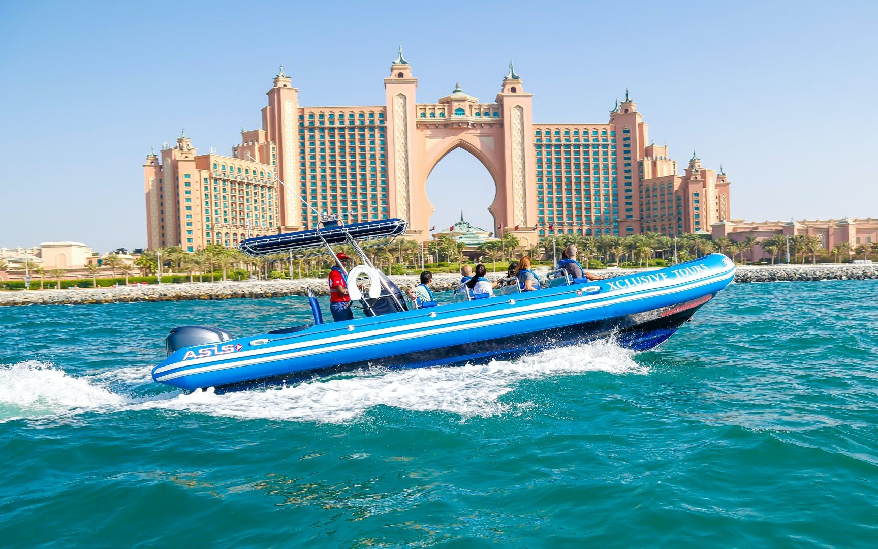 90 Minutes Luxury RIB Boat Cruise - Guided Tour of Palm Jumeirah & Dubai Marina