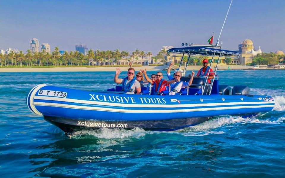 90-minute speedboat tour: marina, atlantis, palm & burj al arab-0