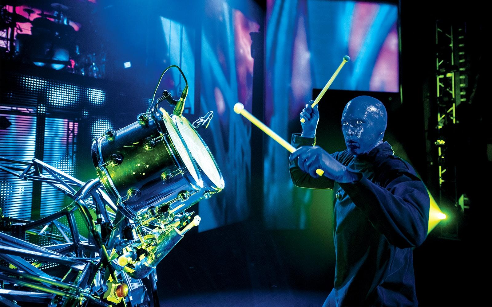Cheap Las vegas show tickets- Blue Man Group