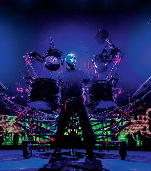 Best Vegas Shows ifor Kids and Families - Blue Man Group