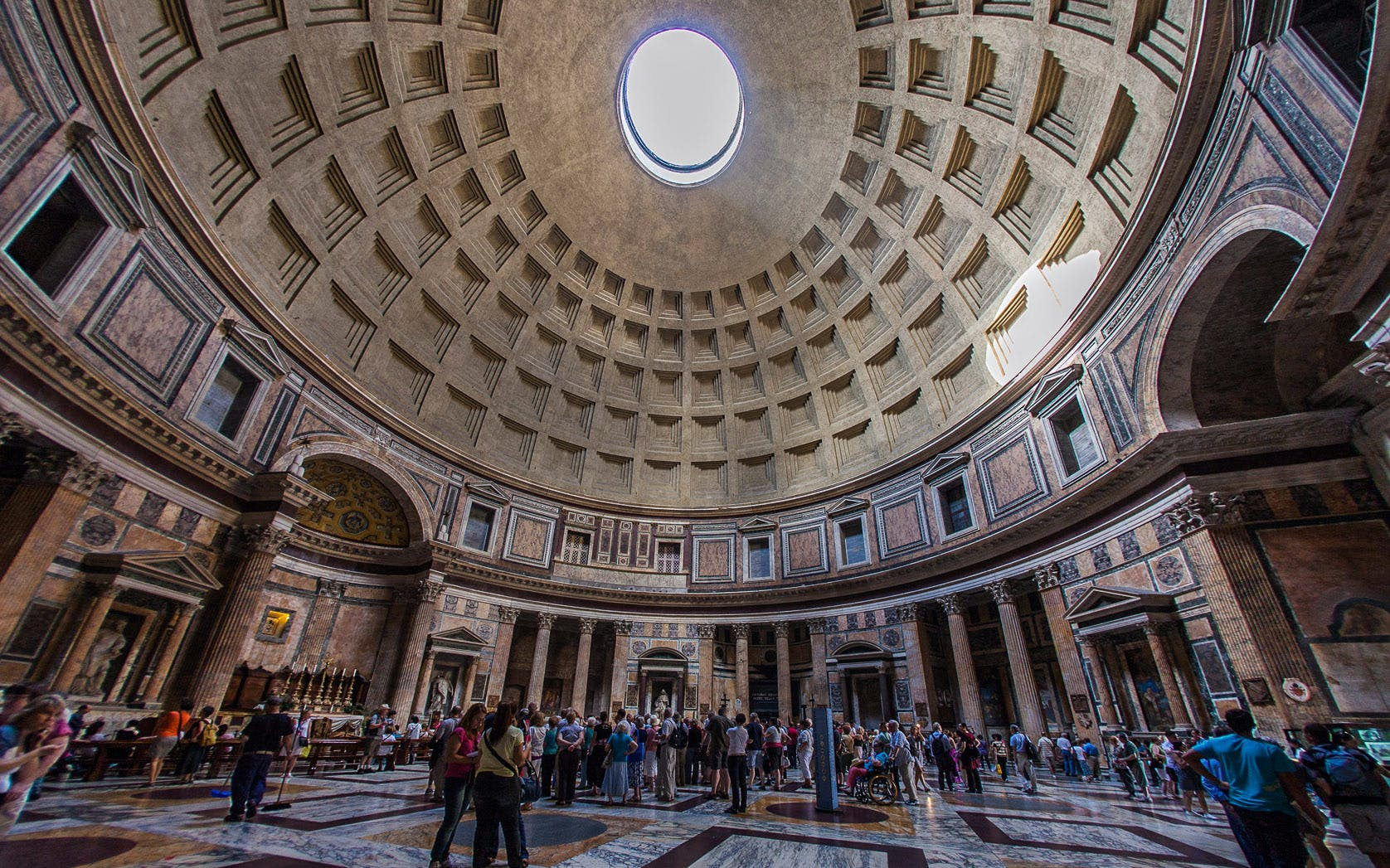 pantheon & underground of santa maria in via lata walking tour - express entry-2