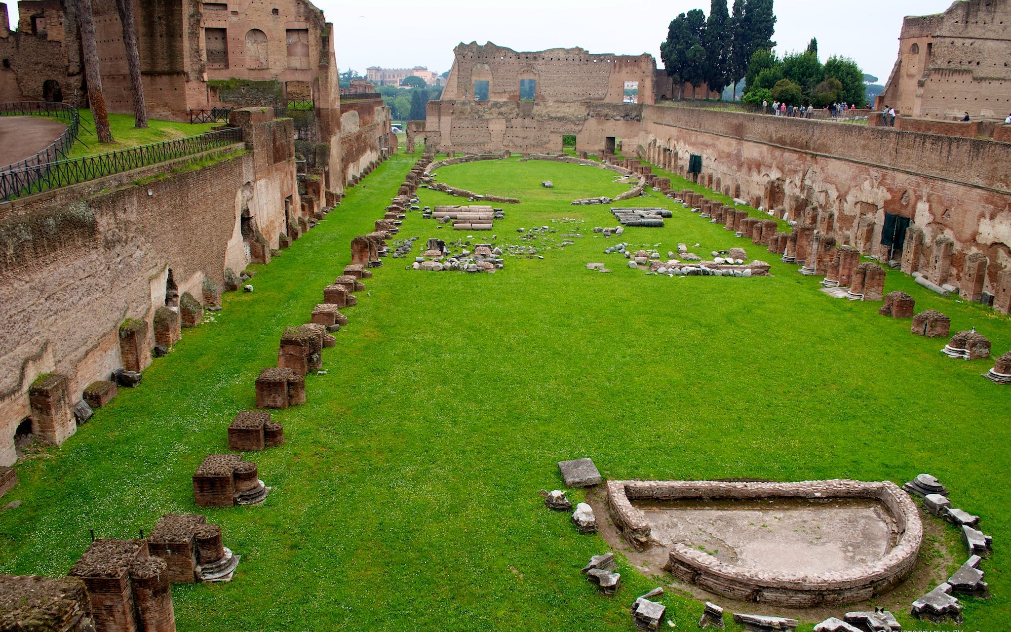 piazza navona & domitian stadium underground walking tour - express entry-3