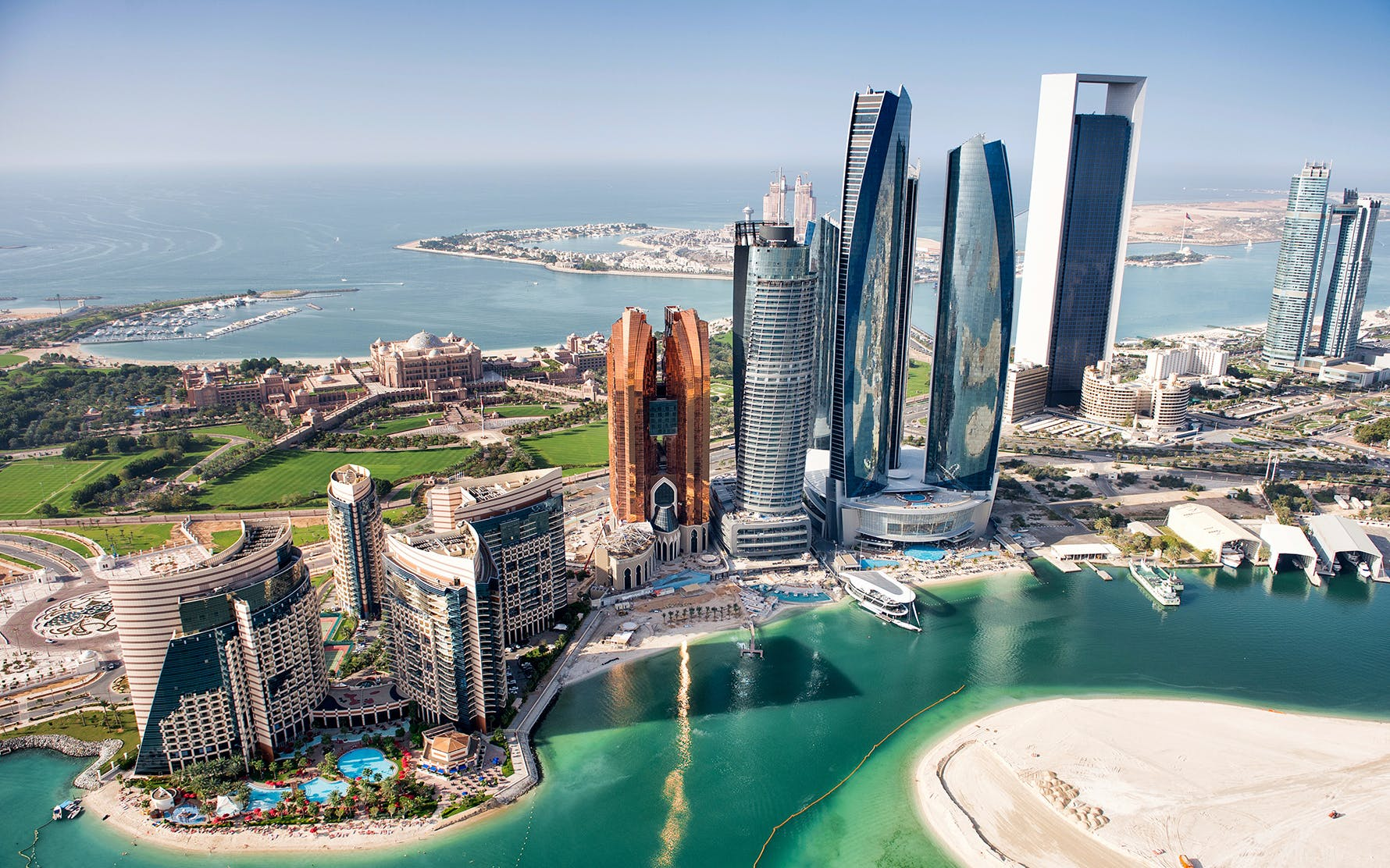 Seaplane Tour and Yas Waterworld (Dubai to Abu Dhabi)