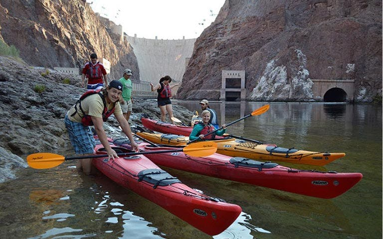 hoover dam kayaking tour-1
