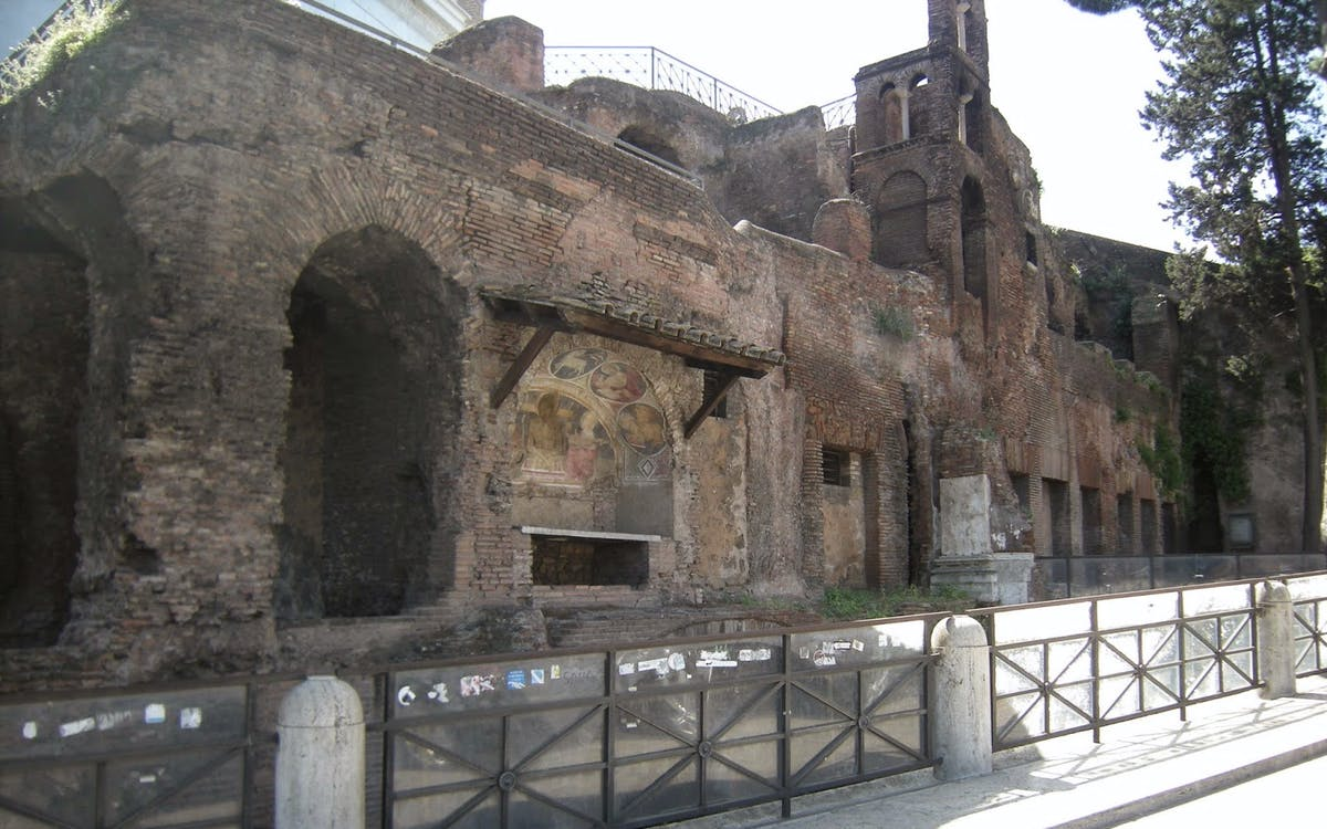 insula of the ara coeli underground walking tour - express entry-1