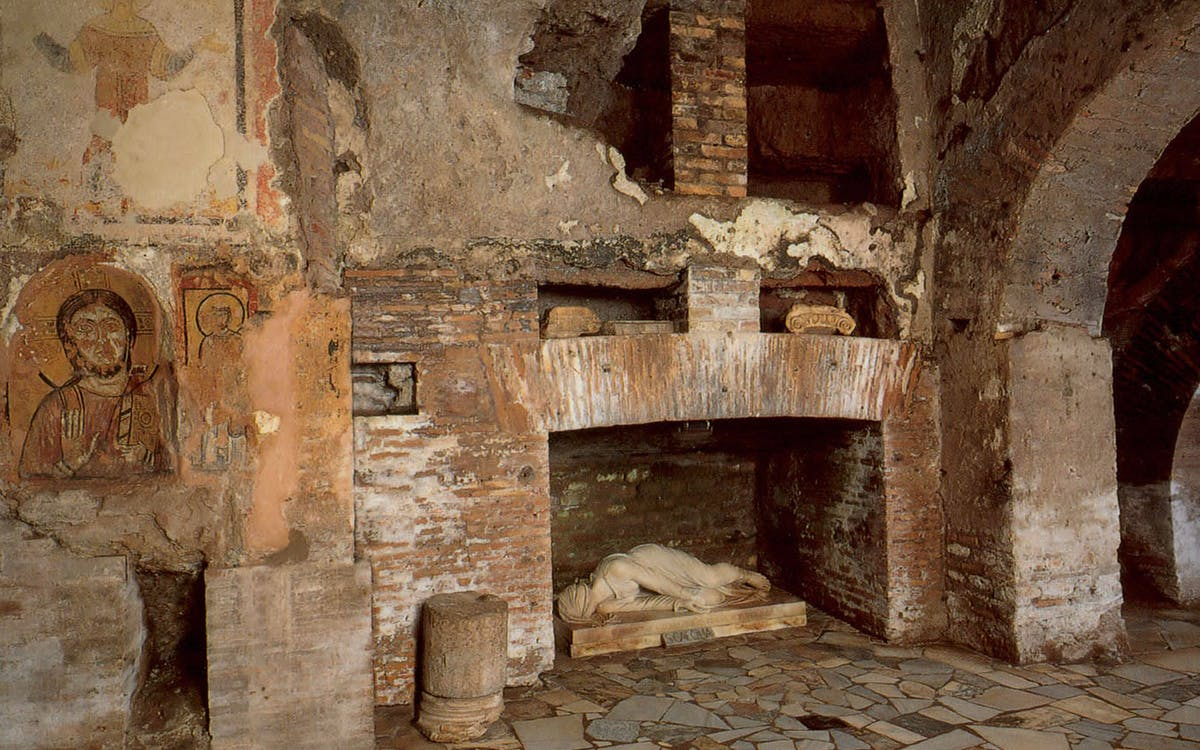 old appian way jewish catacomb walking tour - private access-1