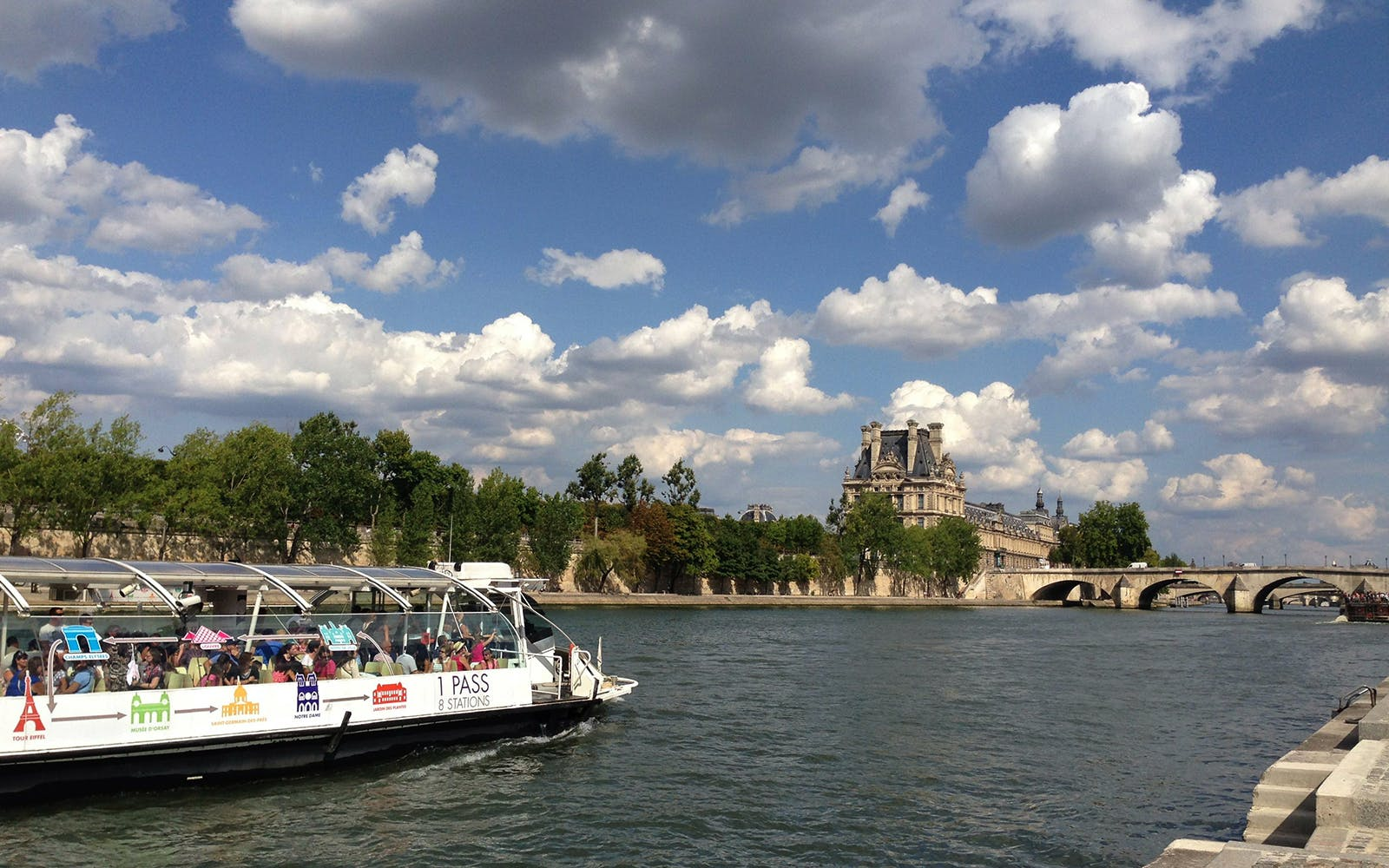 Batobus Seine River Cruise Unlimited Access