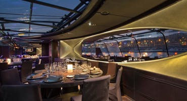 Bateaux Parisiens Early Evening Seine River Dinner Cruise With Wine