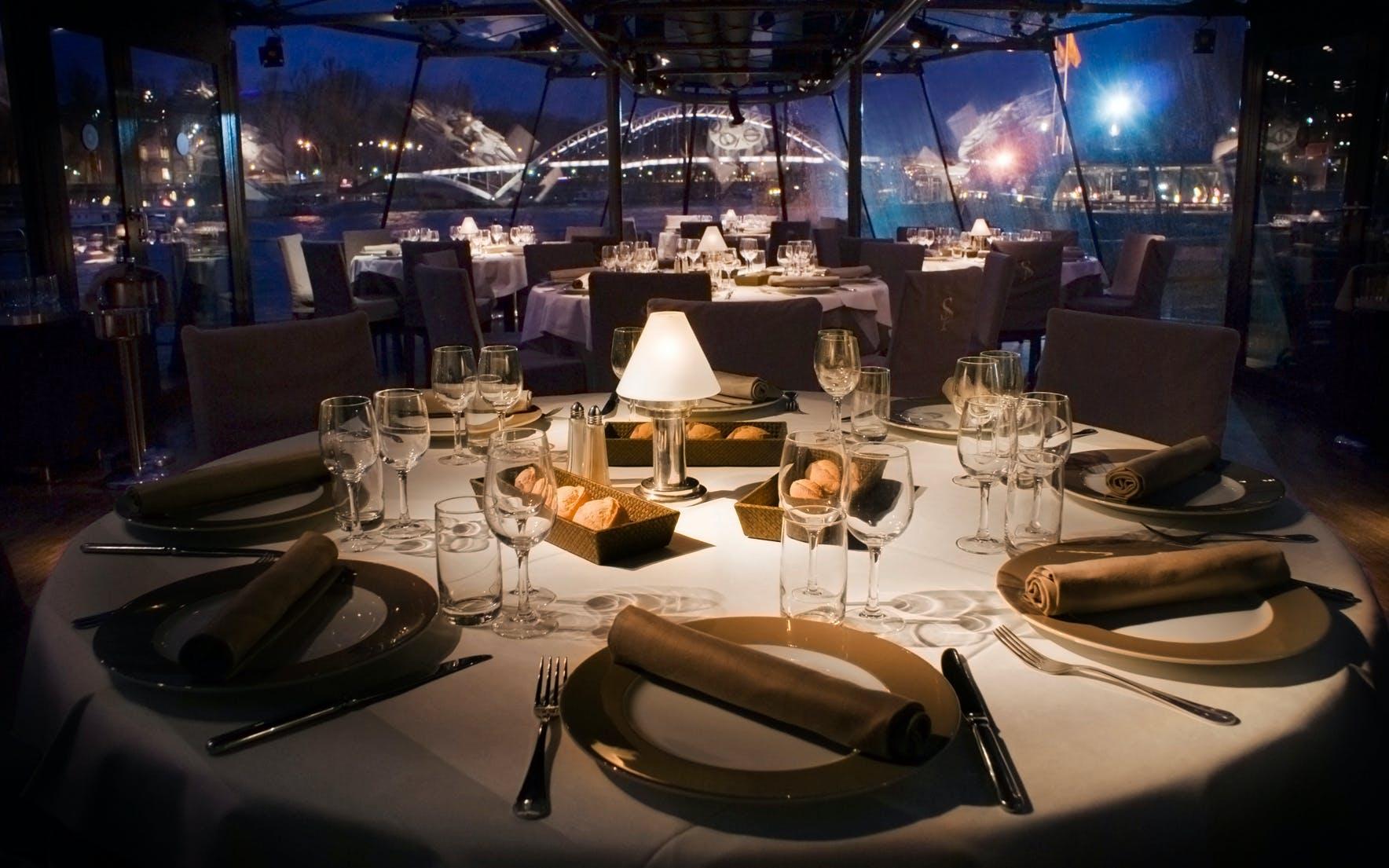 paris dinner cruises