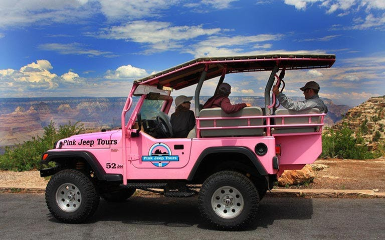 grand canyon pink jeep + imax-1