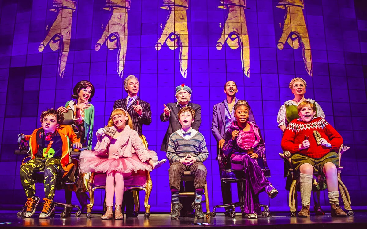 Charlie And The Chocolate Factory Uk Tickets