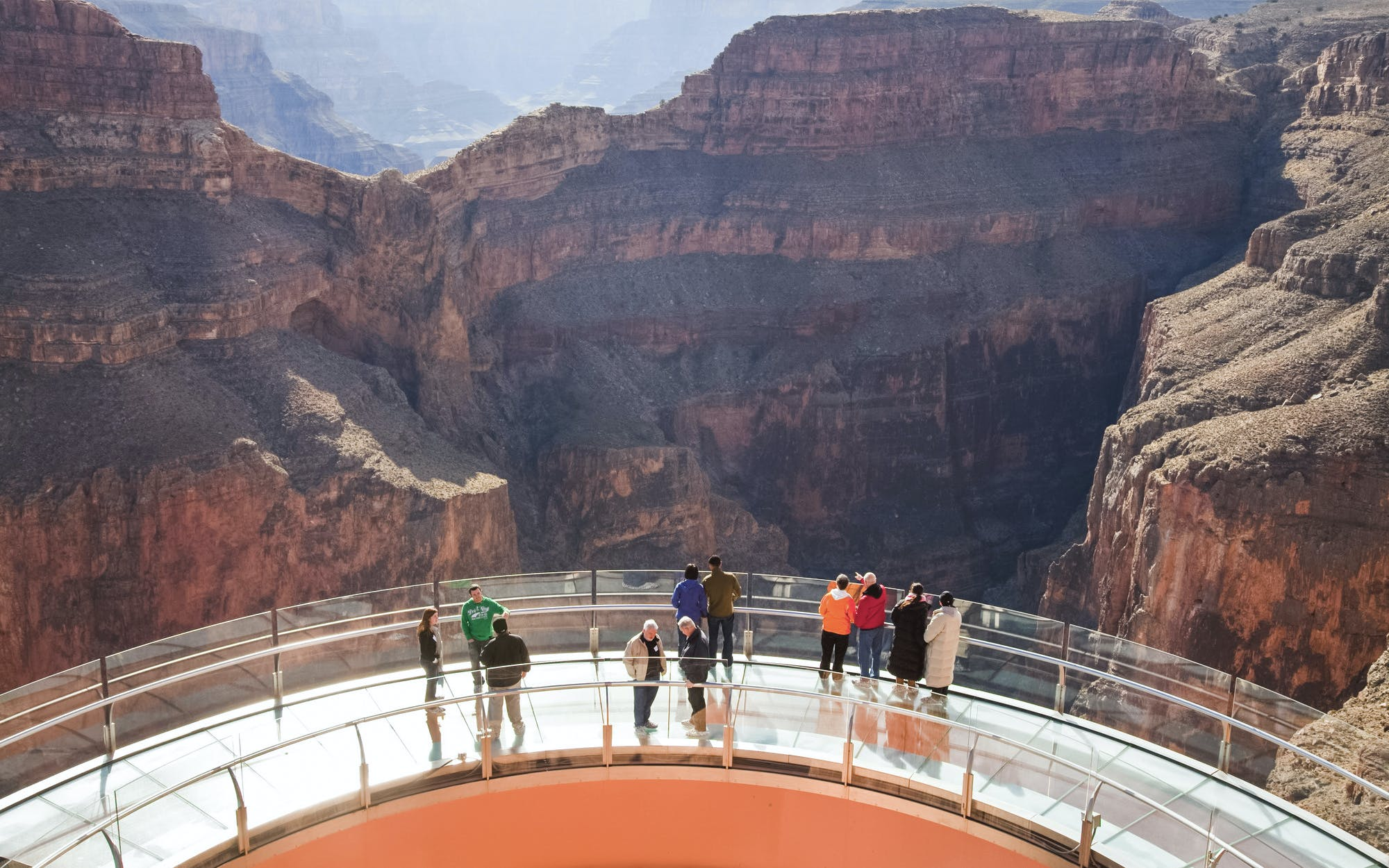 grand canyon skywalk express helicopter tour-2