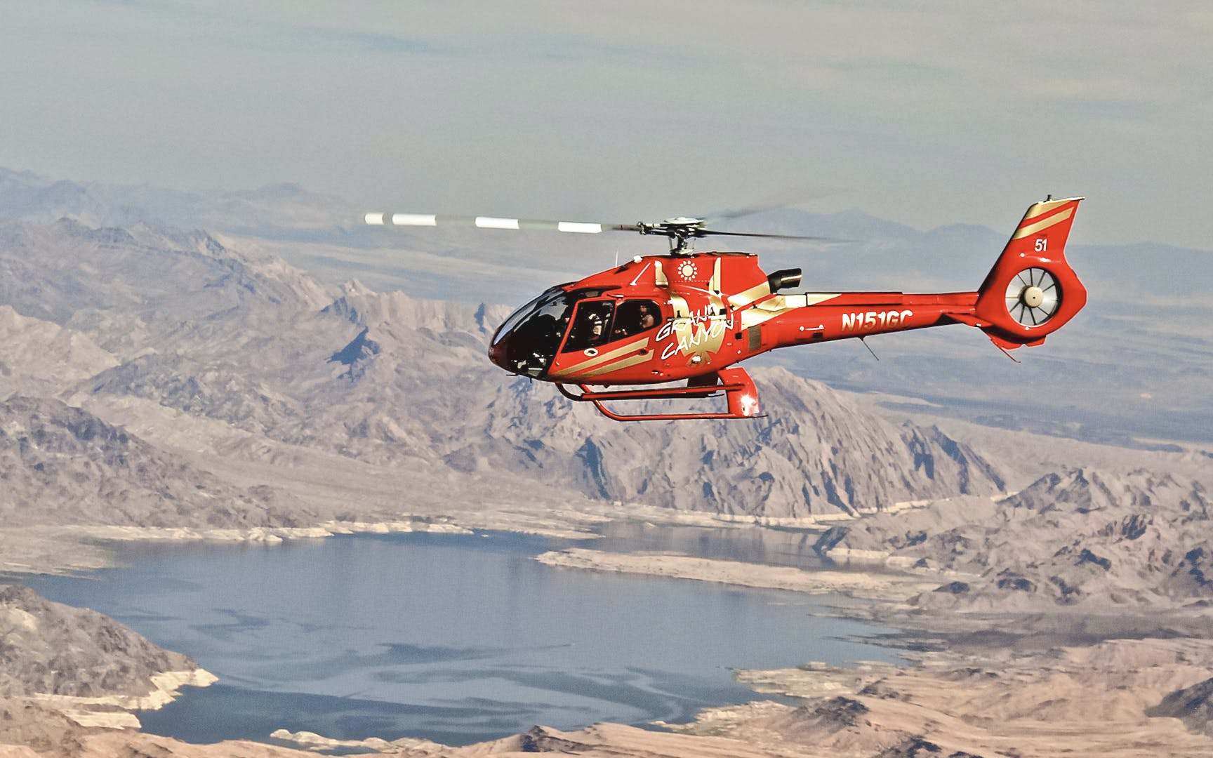 Vegas to GC Skywalk Express Helicopter Tour with Optional Flight Over LV Strip