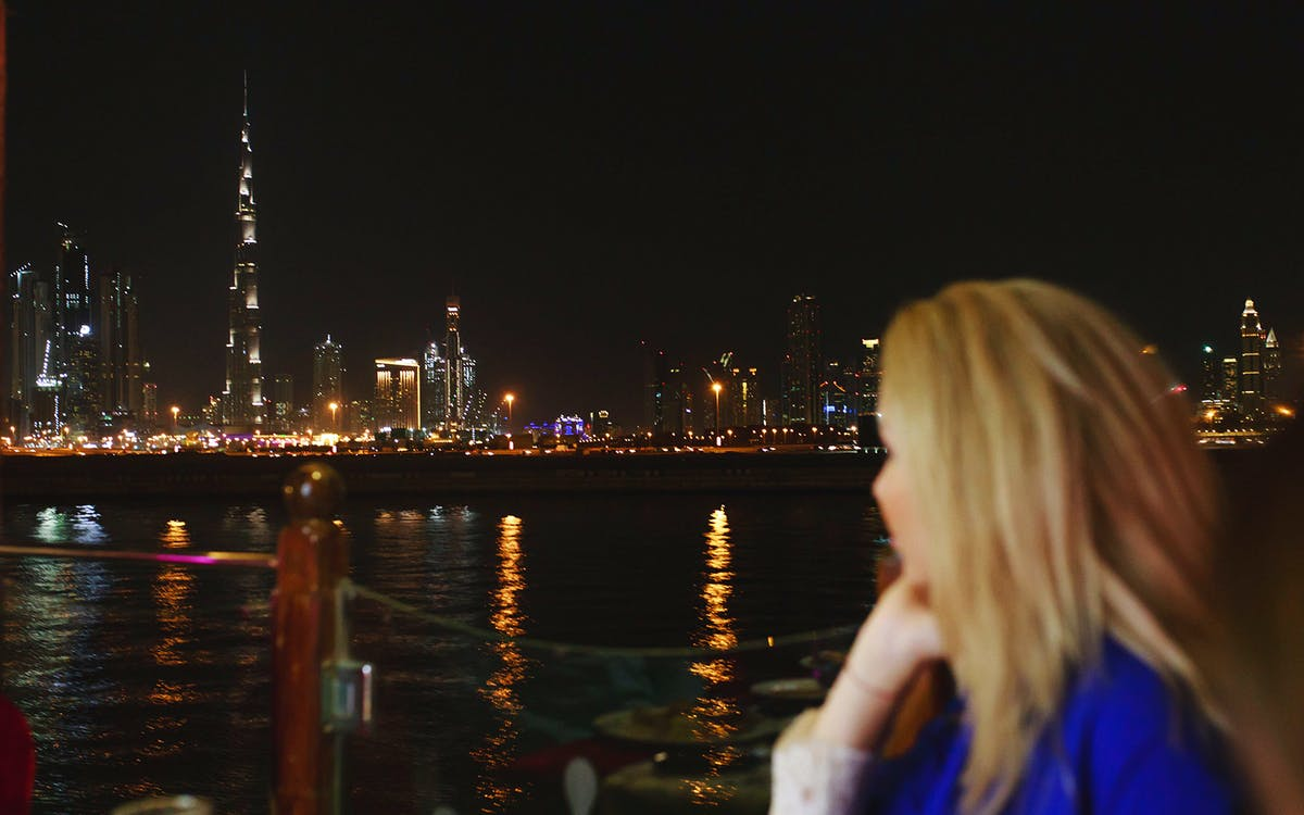dubai water canal cruise with dinner-2