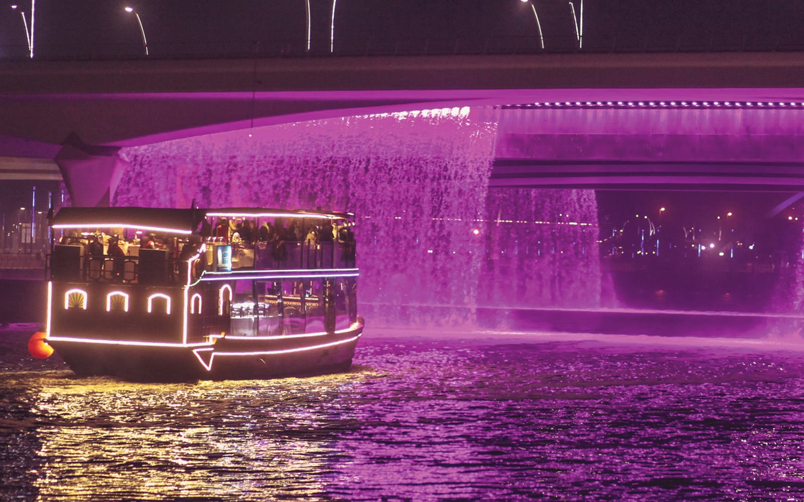 Dubai Water Canal Cruise with Dinner