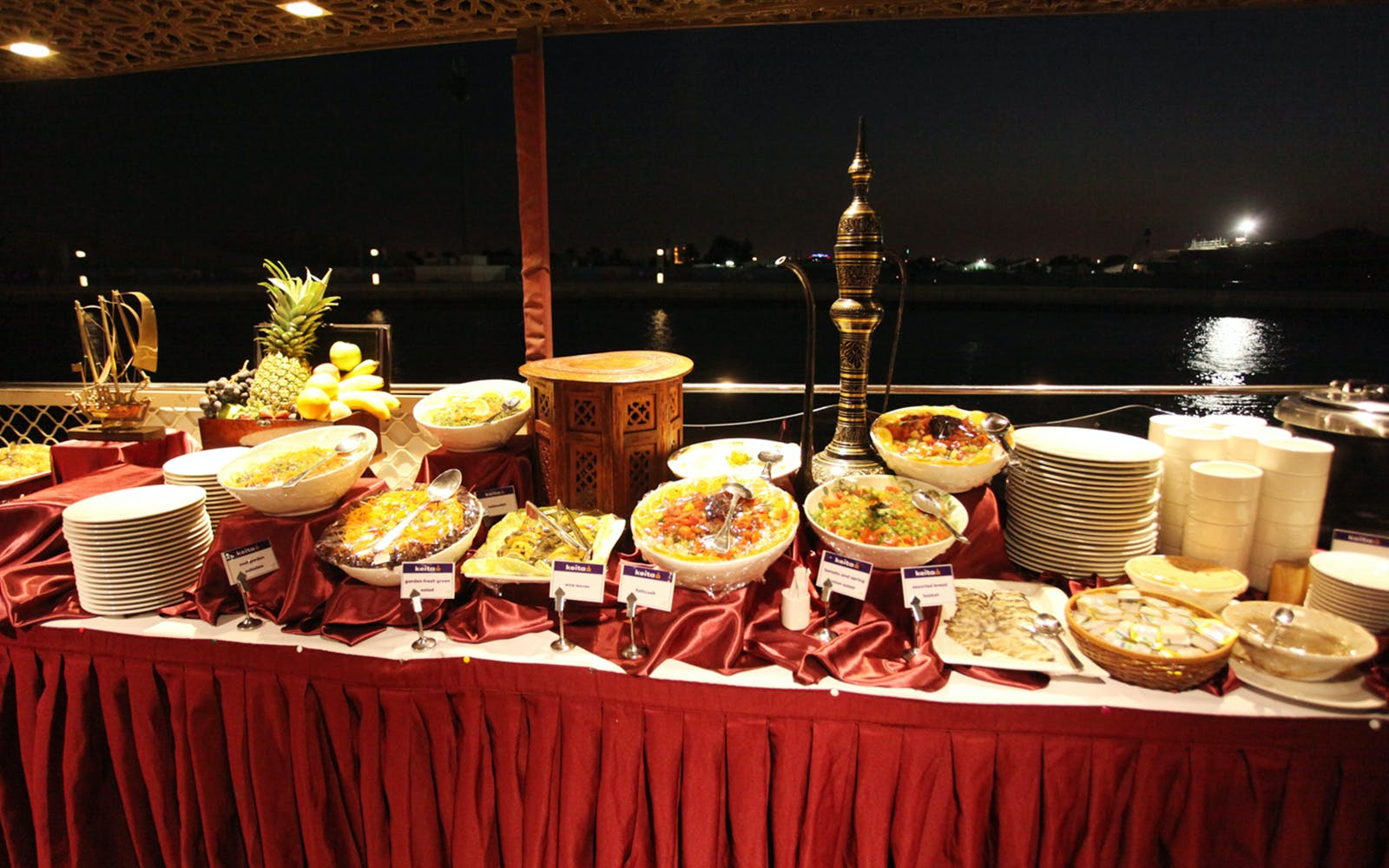 dubai water canal cruise with dinner-4