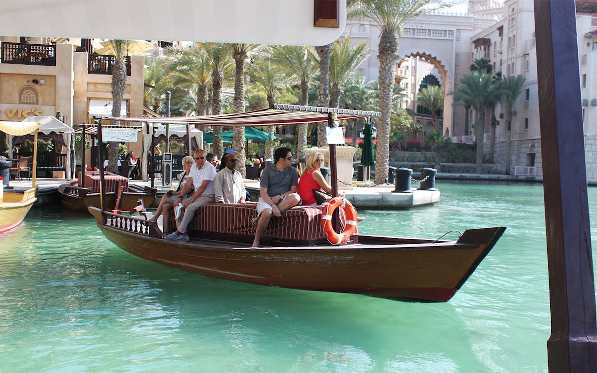 abra ride in the dubai water canal-4