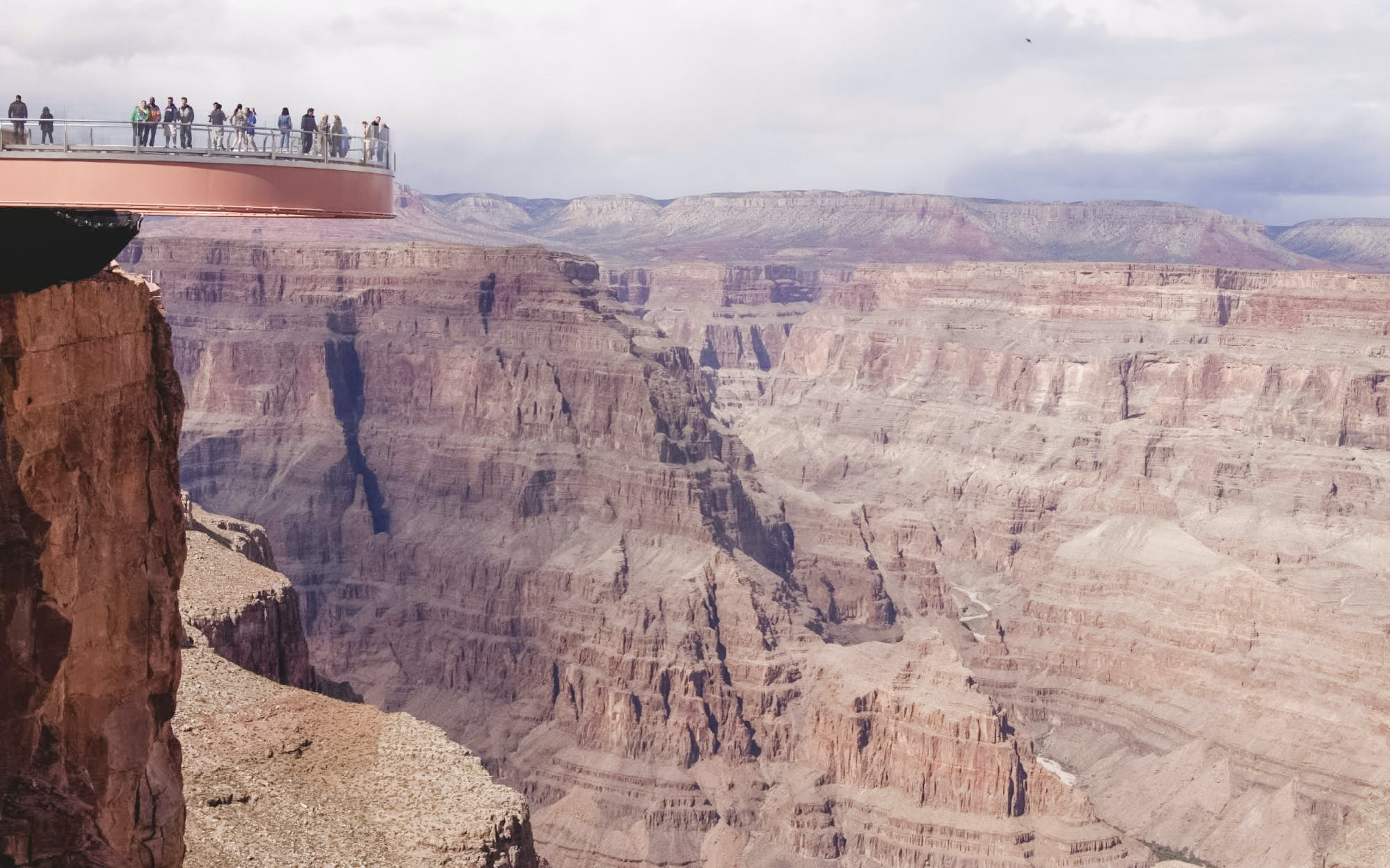 vegas to grand canyon west rim helicopter tour with optional landing-4