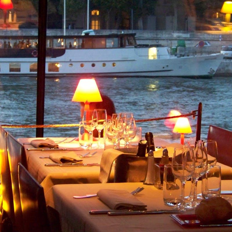 paris food tours Seine Dinner Cruise