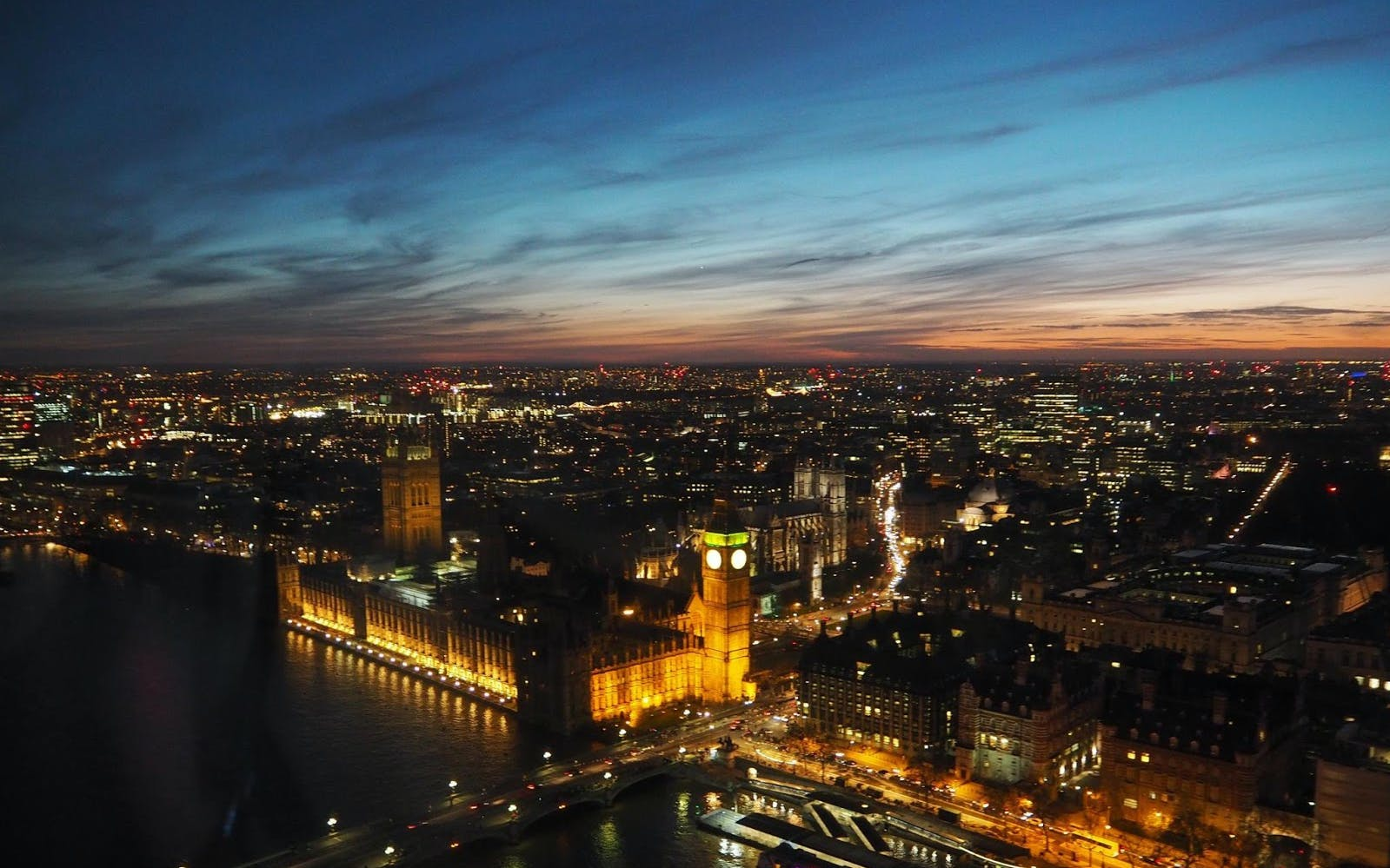 London Eye Champagne Experience Including Fast Track Access