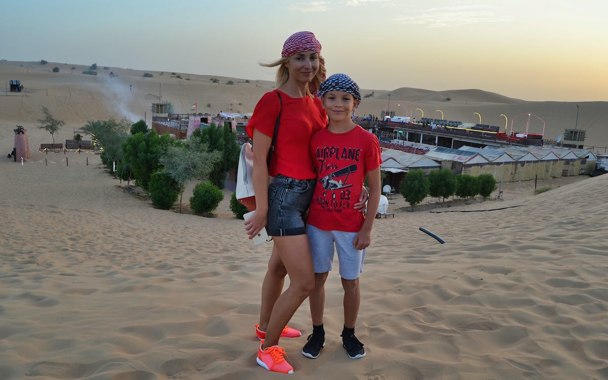 luxury desert safari in al khaimah-1