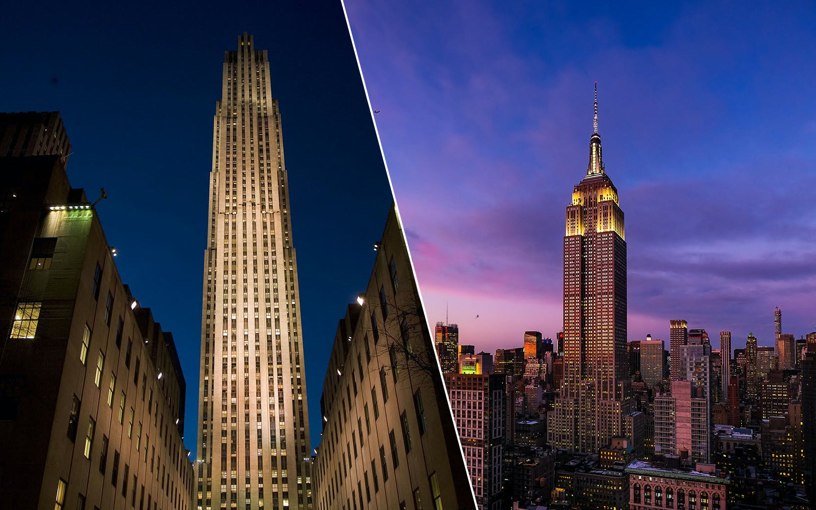 Twin Peaks: Empire State Building + Top of the Rock Tickets