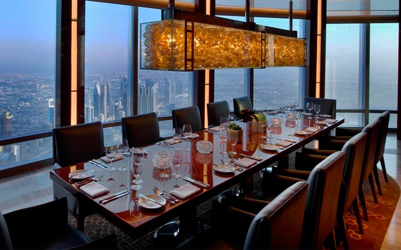 Atmosphere Lounge at The Burj Khalifa Tower