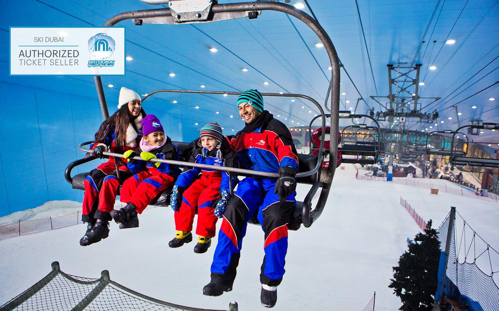 Ski Dubai tickets 2