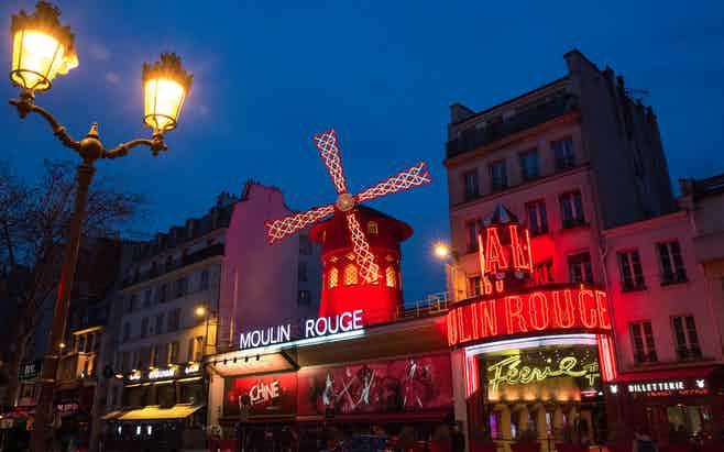 Paris in 5 days-cabaret