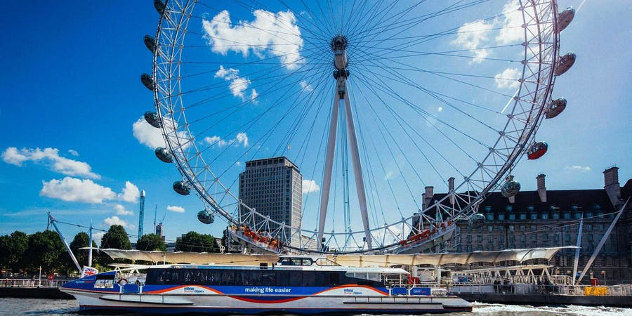 London in August - things to do - Thames Cruise