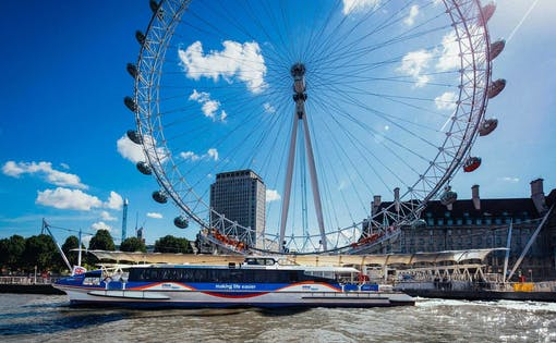 Thames Clippers Cruise & Emirates Air Line