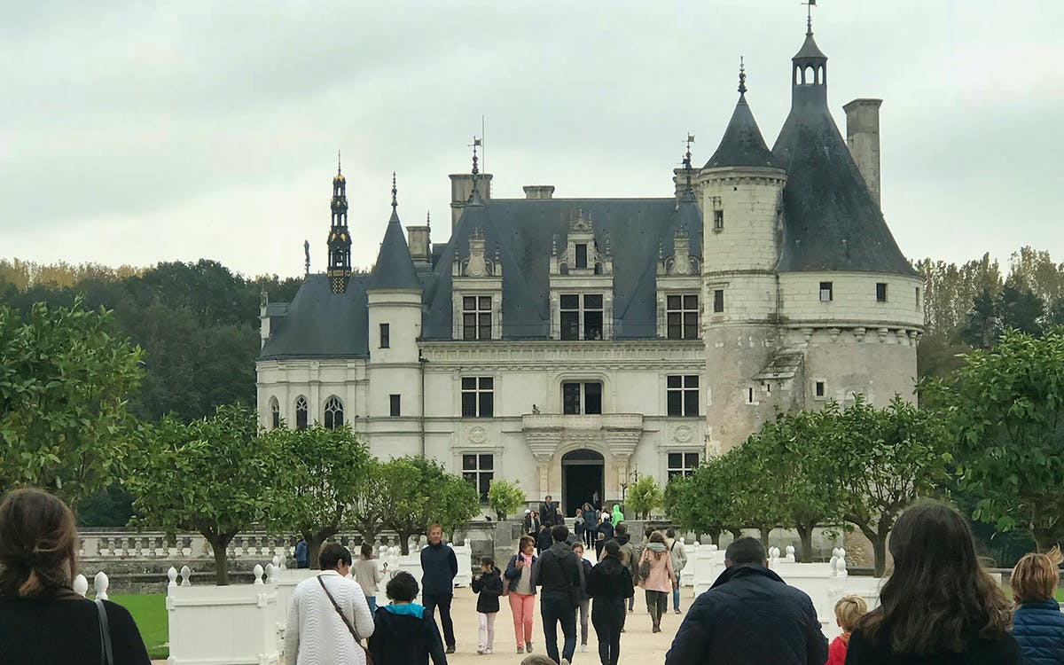loire valley castles: chambord, chenonceau, nitray & wine with lunch tour from p-1