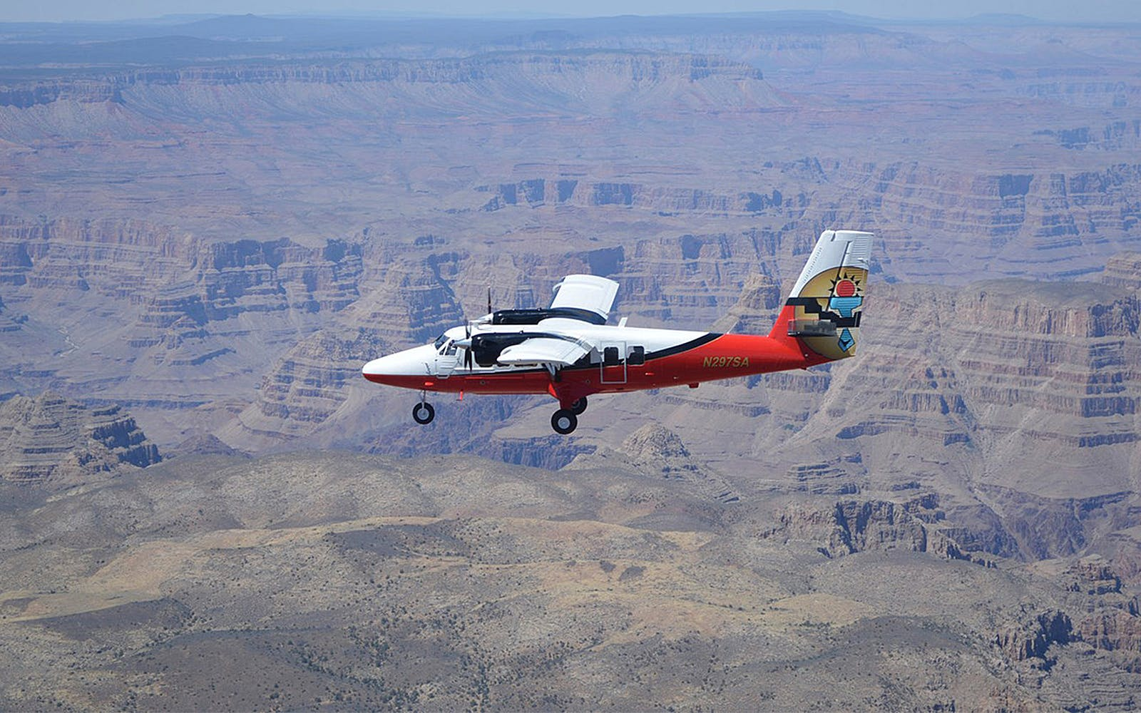 vegas to north rim airplane tour with ground exploration and optional atv ride-1