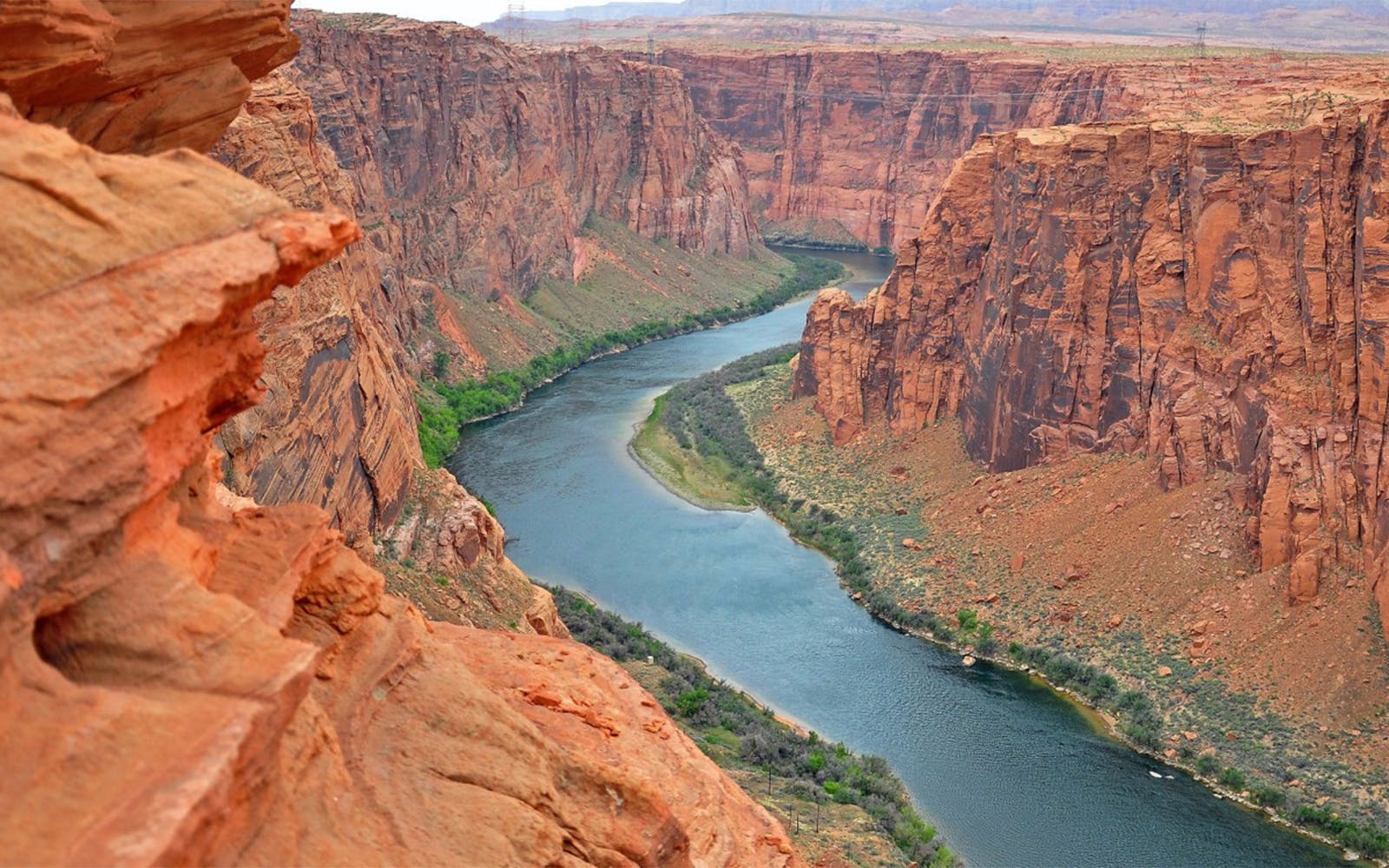vegas to north rim airplane tour with ground exploration and optional atv ride-3
