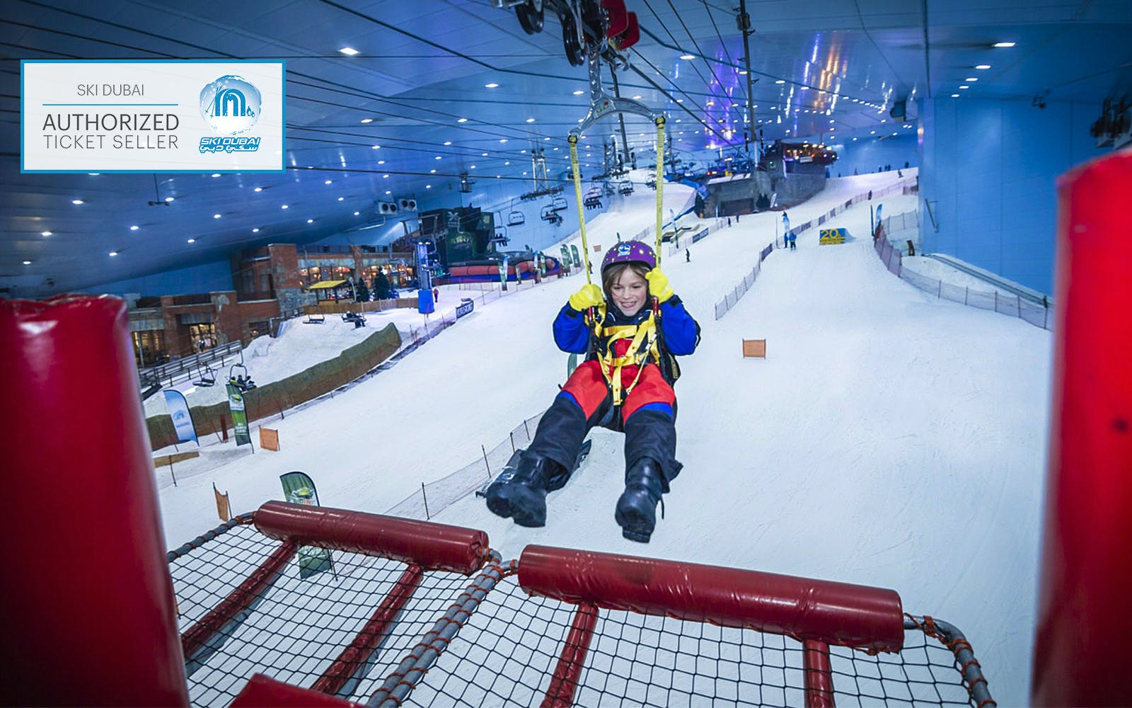 5 Day Dubai Itinerary - Ski Dubai - 2