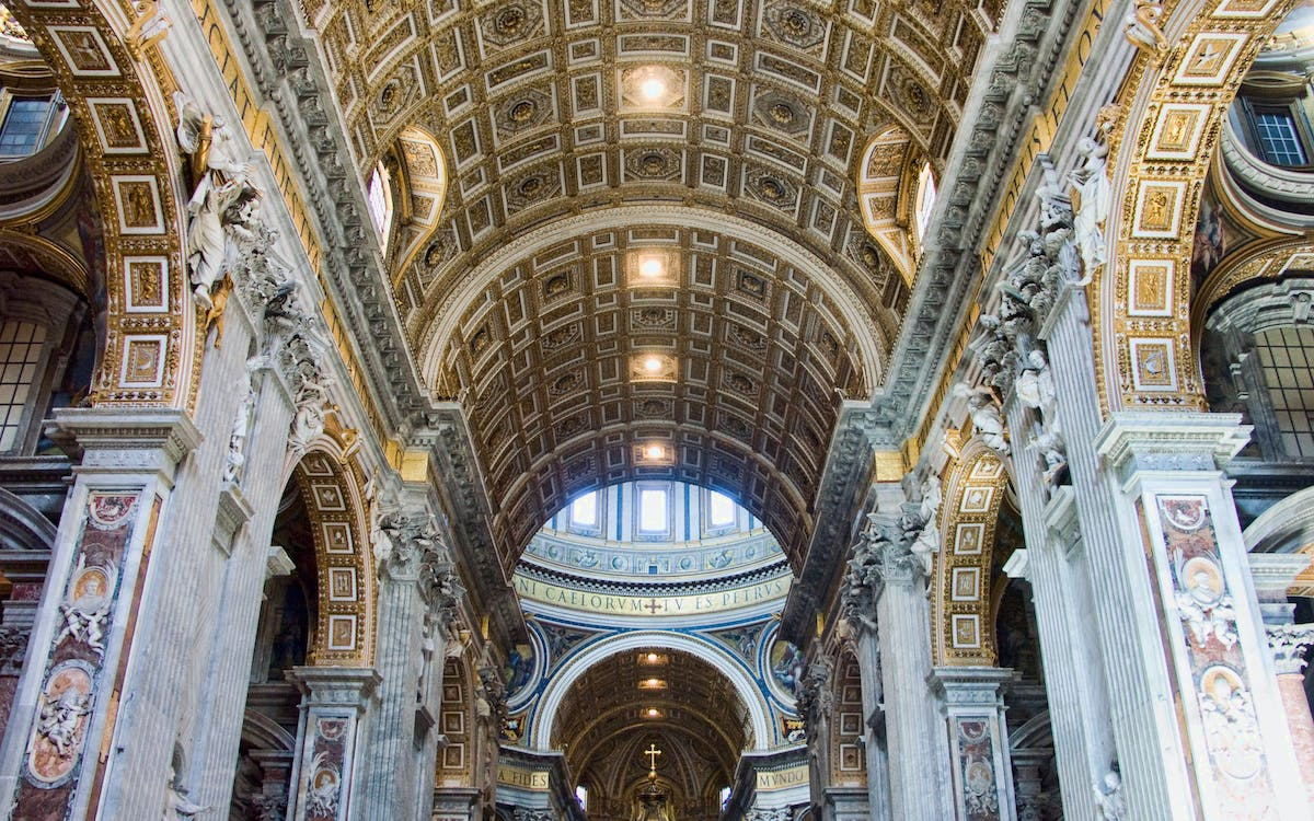 guided tour of the mosaic school + st. peter's basilica-3