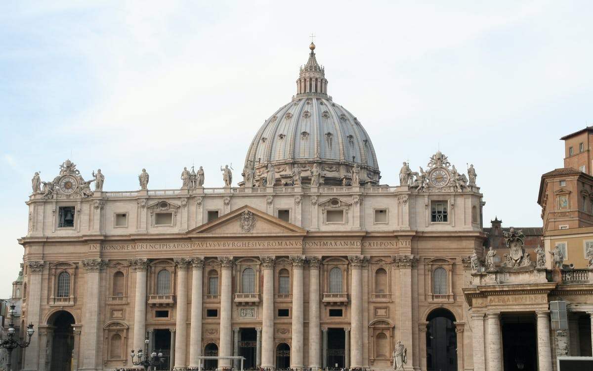 guided tour of st. peter's basilica and dome-1
