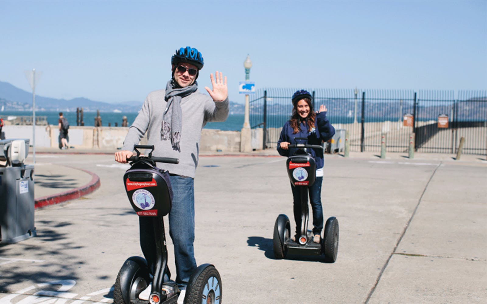 wharf and waterfront mini segway tour-3
