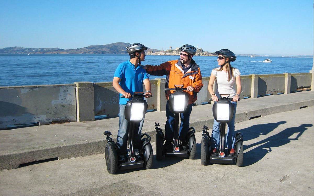 wharf and waterfront mini segway tour-1
