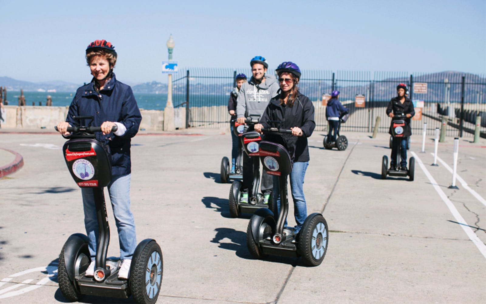 wharf and waterfront mini segway tour-2