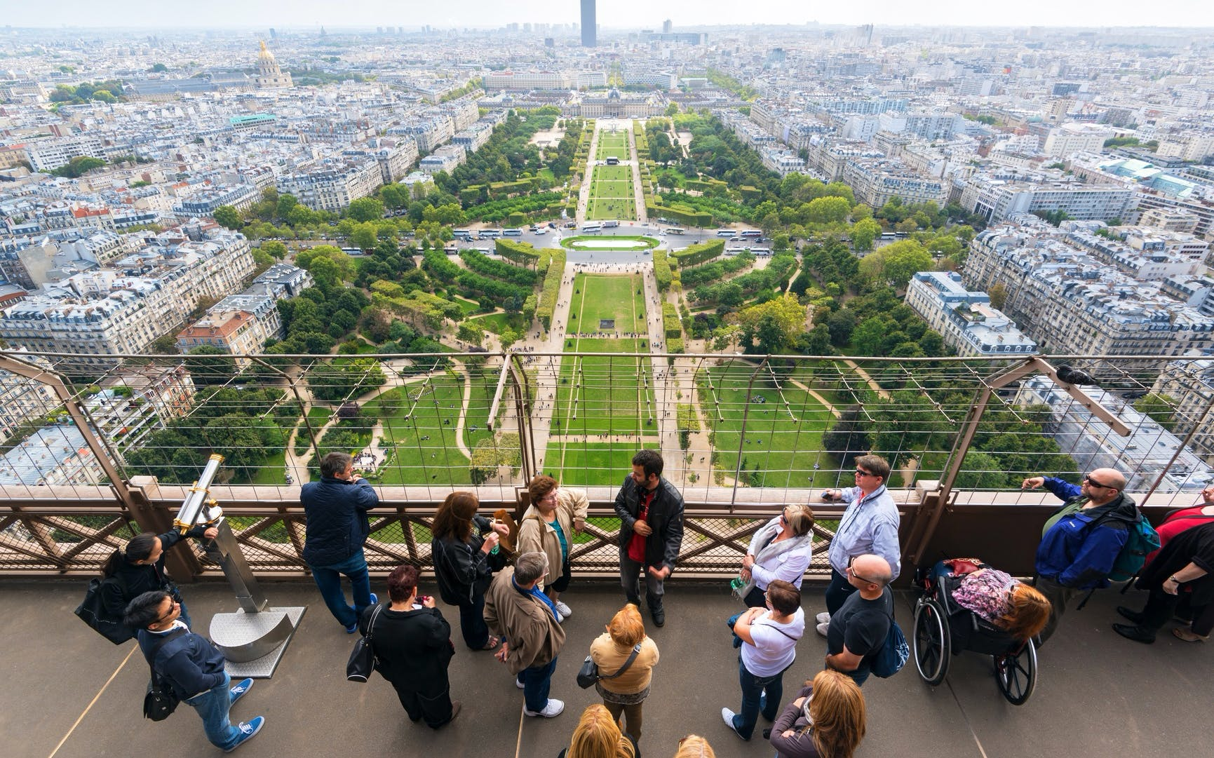 skip the line: eiffel tower summit tickets with host-3