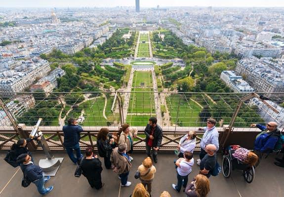 Eiffel Tower Summit Level