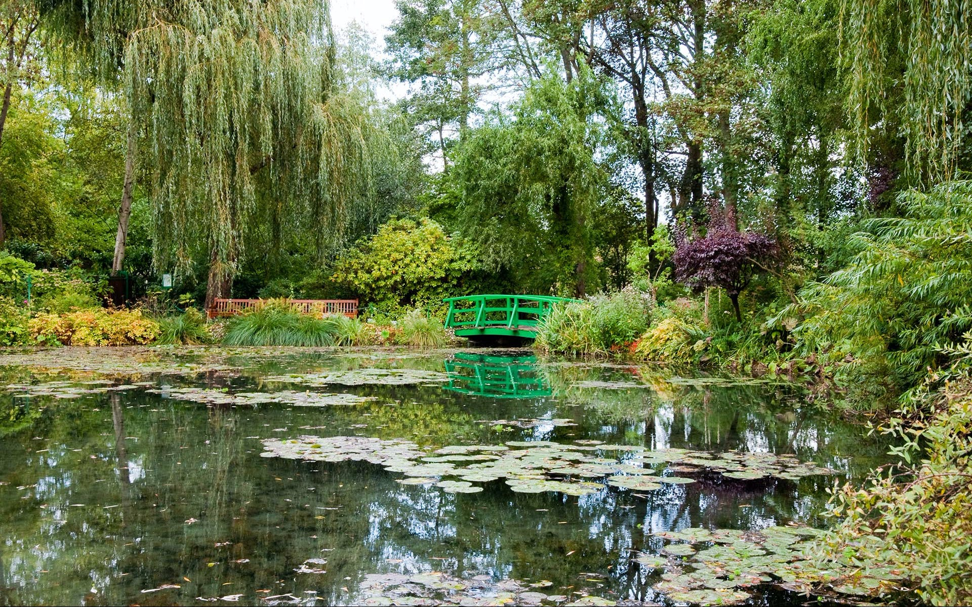 paris to normandy - giverny - monet's garden